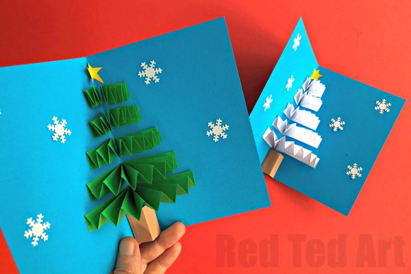 DIY Holiday Pop-Up Card