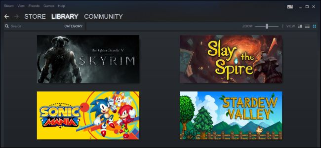 steam and games