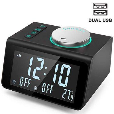 ANJANK Alarm Clock Radio