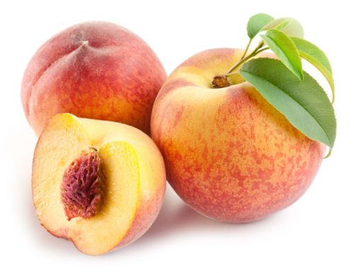 low sugar fruits peaches