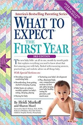 """2. """"What to Expect the First Year"""" – Heidi Murkoff and Sharon Mazel"""