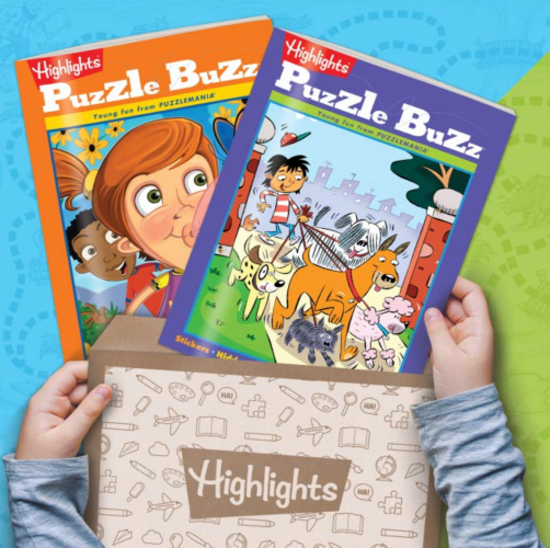 1. Highlights Puzzle Club - Kids Puzzle Books Subscription