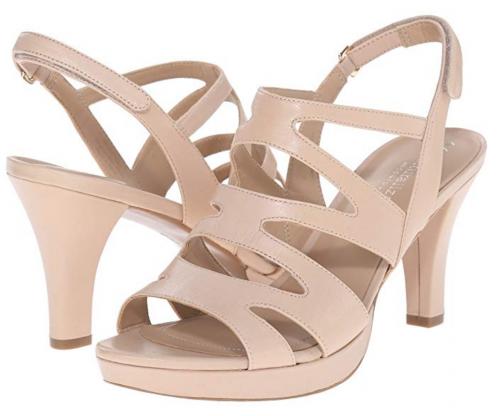 2. Naturalizer Pressley Platform Sandals