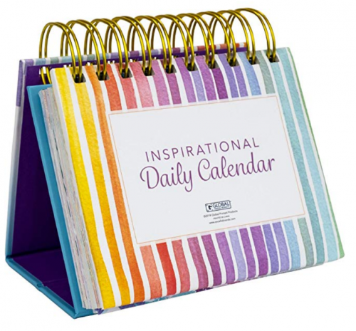 desk accessories: motivational calendar