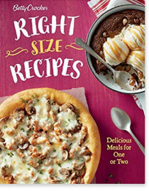 3. Betty Crocker Right-Size Recipes – Betty Crocker