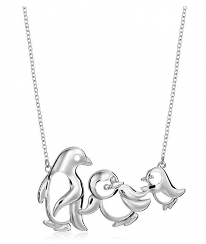penguin gifts necklace
