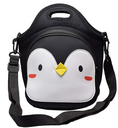 penguing gifts lucnh bag