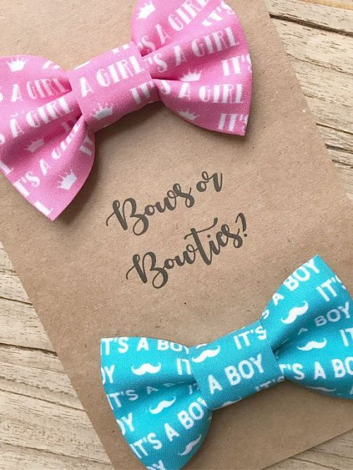 Bows or bowties
