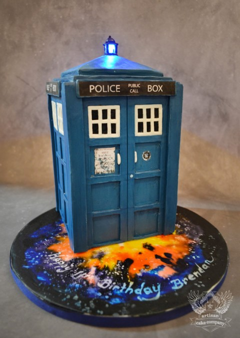 Dr. Who Groom's Cake