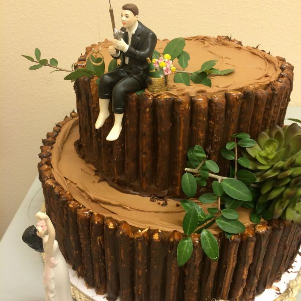"Fishing"" groom's cake"
