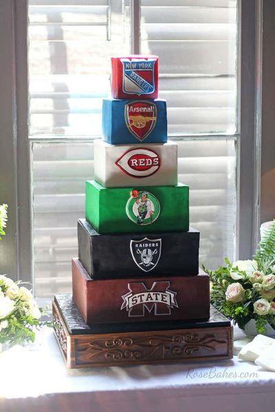 Multi-Sport Cake