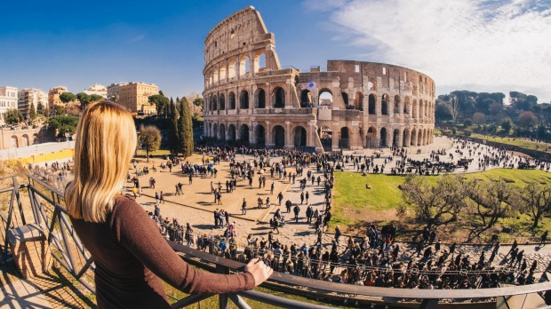 Best places to travel alone: Rome, Italy