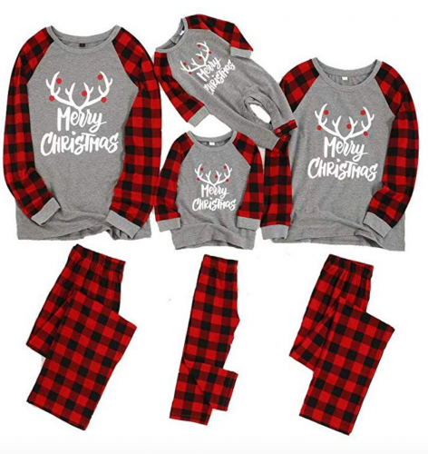 Yaffi Matching Family Pajamas Sets