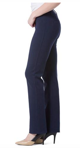 Fishers Finery Women's Ecofabric Ponte Stretch Boot Leg Dress Pant