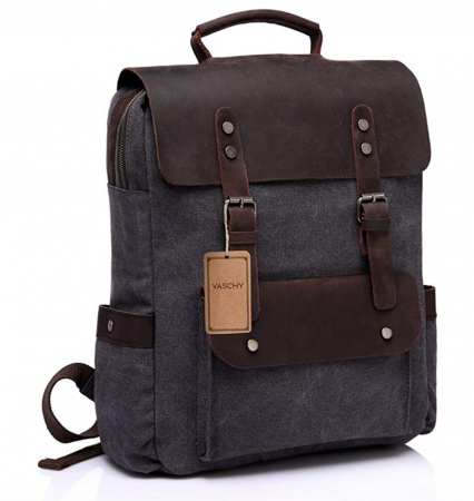 Best backpacks for work: VASCHY Leather Laptop Backpack