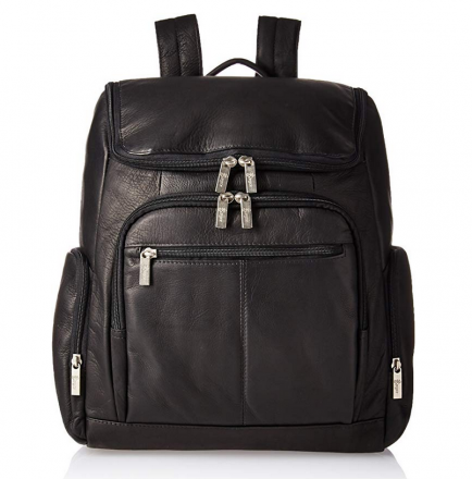 Royce Leather Executive Backpack