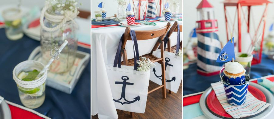 nautical gender reveal parthy