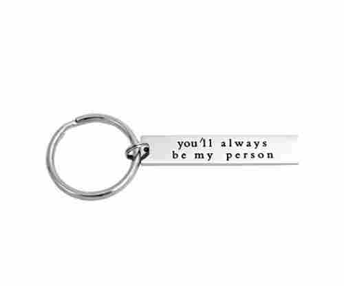 Stainless Steel Best Friend Keychain