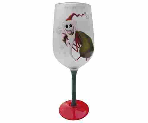 The Nightmare Before Christmas Jack Skellington Glass Goblet