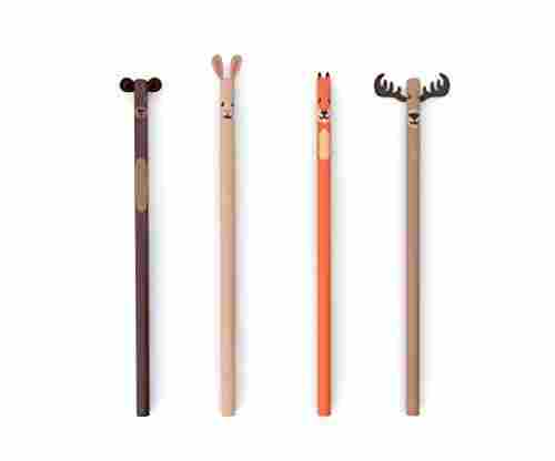 Kikkerland Woodland Pencils Set Reviewed