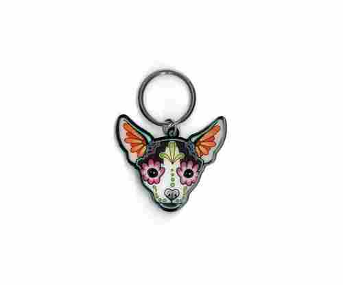Cali's Pretty in Ink Chihuahua Keychain