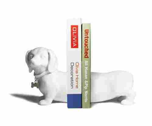 Danya B Dachshund Bookend Set