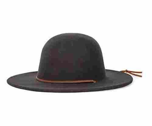 Brixton Men's Tiller Wide Brim Felt Fedora Hat