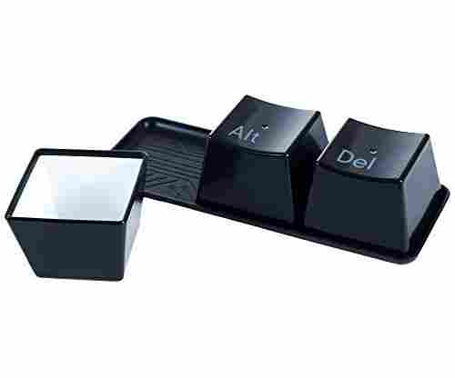 Chef Buddy 4 Piece Ctrl Alt Delete Hot and Cold Cup Set