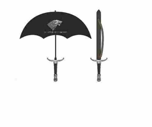 Game Of Thrones 'Winter Is Coming' House Stark Sword Umbrella