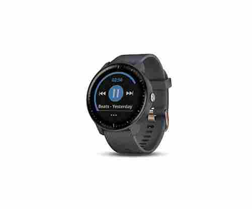 Garmin 010-01985-31 GPS Smartwatch with Music Storage and Built-in Sports Apps