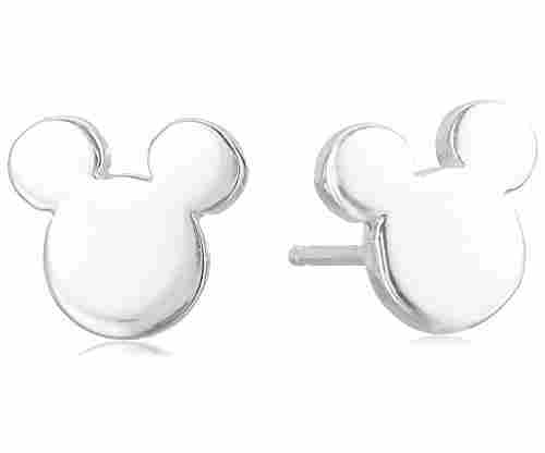 Disney Mickey Mouse Silhouette Post Stud Earrings