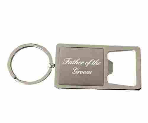 Groom's Father Keychain