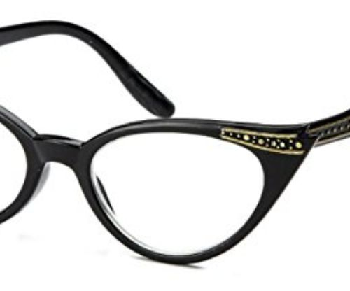 WebDeals – Cateye High Pointed Eyeglasses or Sunglasses