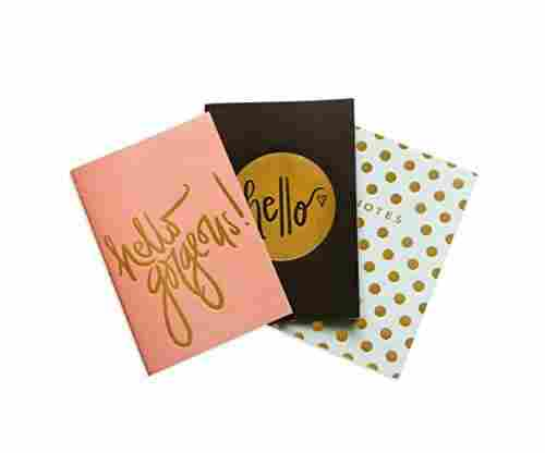 Hello Gorgeous Notebooks in 3 Colors