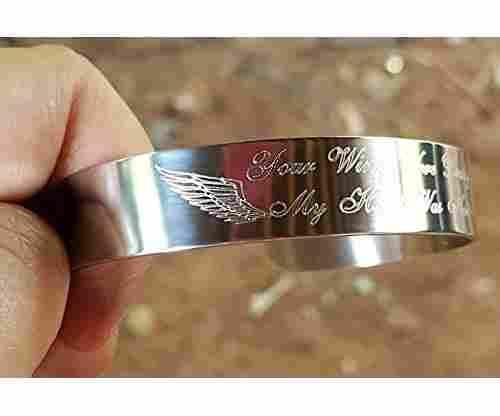 Your Wings Were Ready My Heart Was Not Bracelet