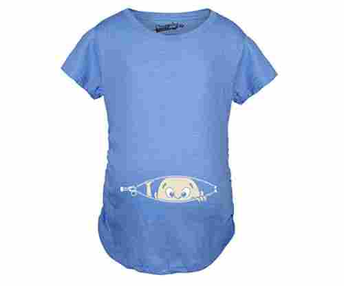 Maternity Baby Peeking T-Shirt