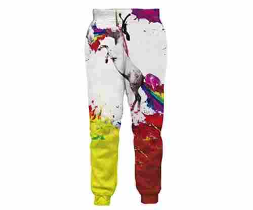 Leapparel Men/Women 3D Joggers Pants