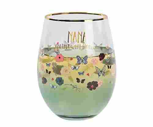 Pavilion Gift Company Stemless Wine Glass for Grandma