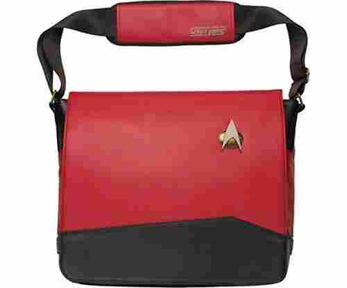 Star Trek Red Uniform Messenger Bag