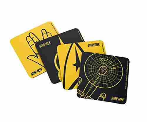 Star Trek Cork-Back Coaster Set