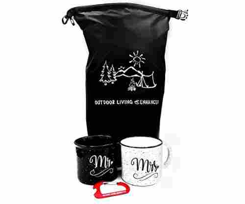 Mr and Mrs Couples Camping Pack