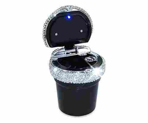 EING Portable Blingy Car Cigarette Ashtray with LED Light Indicator