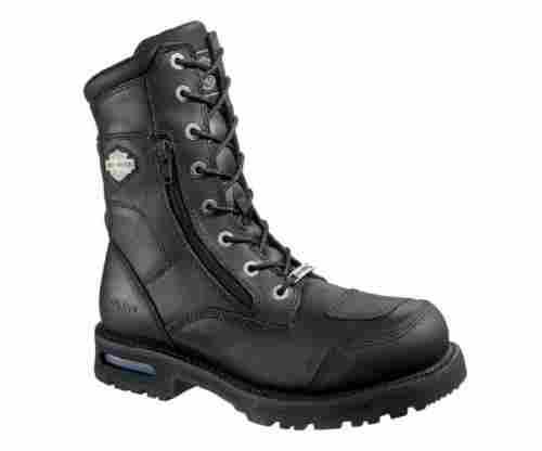 Harley-Davidson Men's Riddick Black Motorcycle Boots