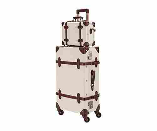CO-Z Premium Vintage Luggage Set with Locks