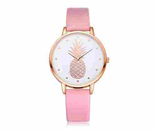 Women's Simple Fashion Watch – Cute Pineapple Pattern