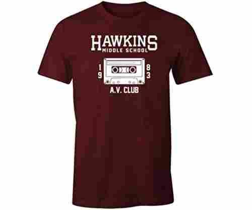 Fantastic Tees Hawkins Middle School AV Club Shirt