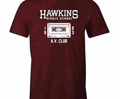 Fantastic Tees Hawkins Middle School AV Club Shirt