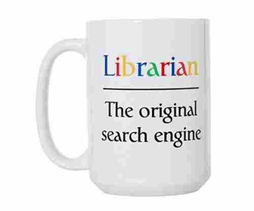 Librarian 15 Ounce Gift Mug