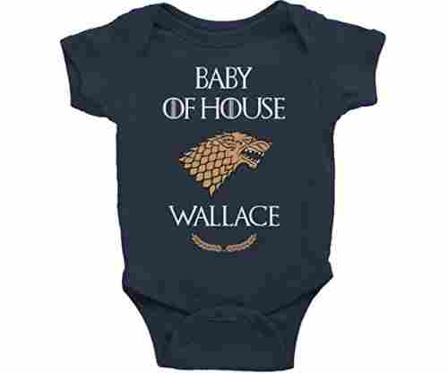 Game Of Thrones Baby Onesie (Last Name Personalized)