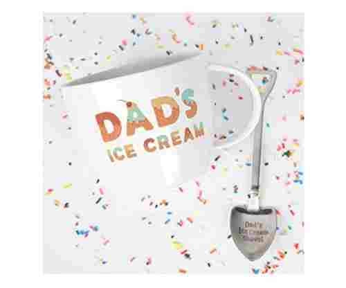 Josephine on Caffeine – Dad's Ice Cream Bowl and Shovel